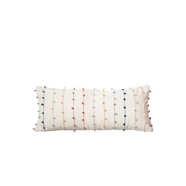 Faye Emond 100% Cotton Lumbar Pillow by Mistana